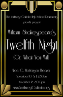 Shakespeare's Twelfth Night at NWC November 10-12