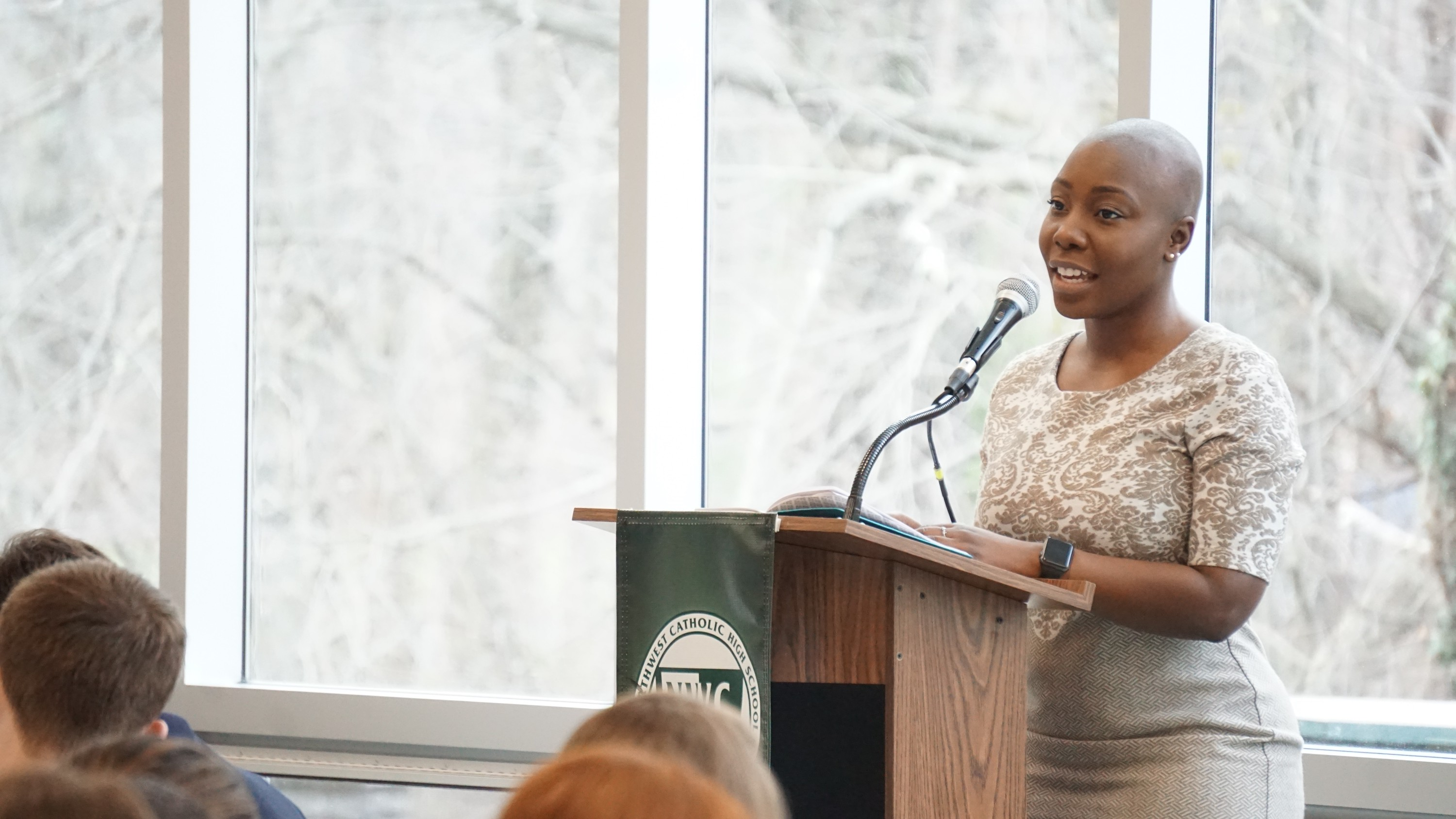 Northwest Catholic Alumnae Inspires Students at Honors Breakfast